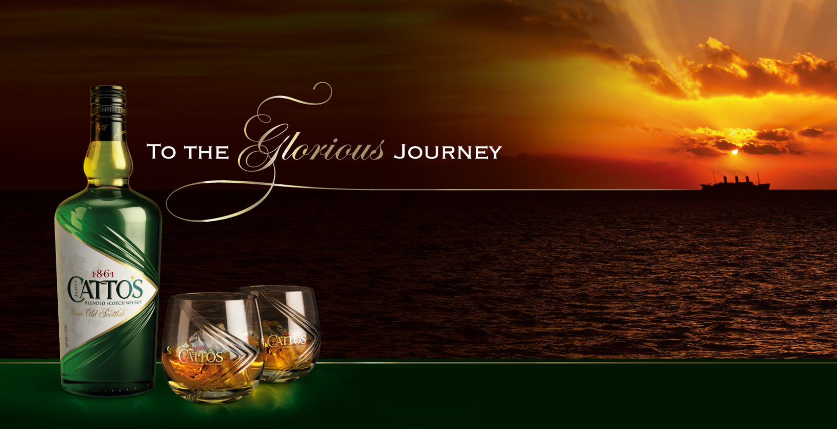 Catto's Blended Scotch Whisky - To the Glorious Journey